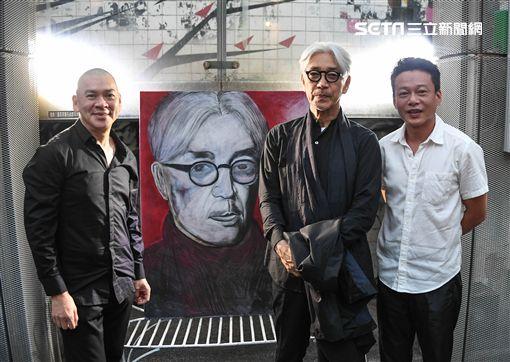 照片提供:明室影像 坂本龍一、蔡明亮、李康生