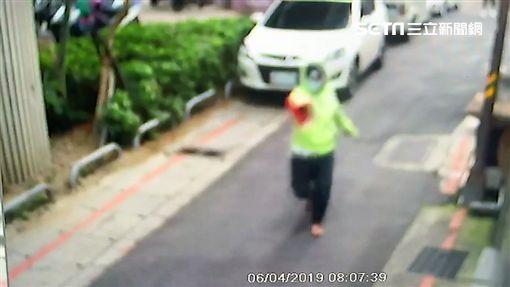 張姓女國中生遭陌生男子尾隨並開槍射擊(翻攝畫面)