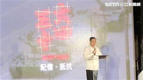陳建仁,六四,中國,台灣,民主 圖/記者黃宣尹攝影