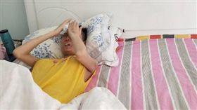 河南安陽22歲趙晴得血癌,父親怕死拒絕捐骨髓。(圖/翻攝自騰訊新聞)