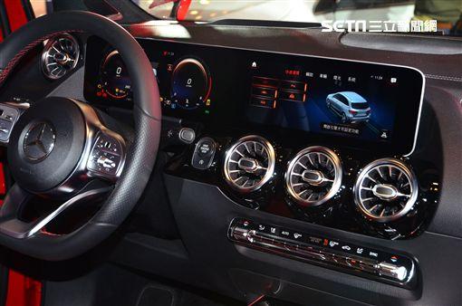 ▲Mercedes-Benz The new B-Class。(圖/鍾釗榛攝影)
