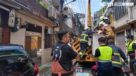 工人,觸電,慘死,板橋,翻攝畫面