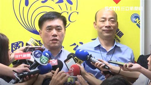 韓國瑜,郝龍斌,新聞台