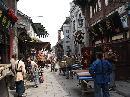 ▲古色古香的周村(圖/喜鴻假期)