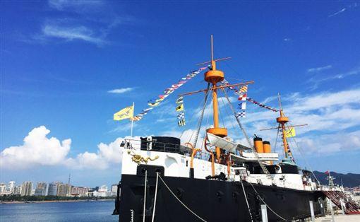 ▲帥氣的定遠艦讓人感受到和辦公室日常很不一樣的海軍生活(圖/山東省旅遊發展委員會)