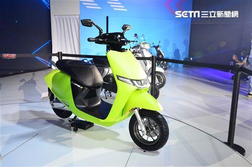 ▲採用輪穀馬達的I-one X是KYMCO新開發的125級電動機車。(圖/鍾釗榛攝影)