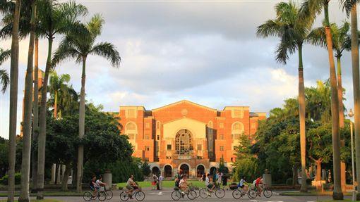 國立台灣大學校園。(圖/翻攝自國立台灣大學臉書)