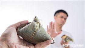 林口長庚醫院新陳代謝科醫師蔡松昇提醒,粽子中糯米的升糖指數(GI)偏高,易導致血糖升高迅速,糖尿病患者應多留意。(圖/醫師蔡松昇提供)