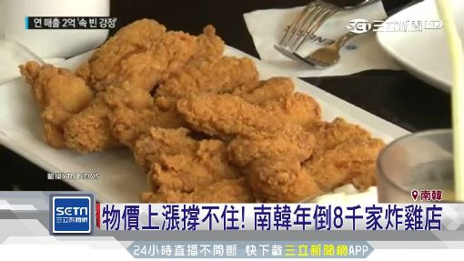 韓式炸雞美味退燒! 2018年關門8400間