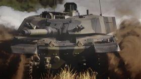 M1A2,軍售,美國,中國,台灣,戰車(圖/翻攝自推特)