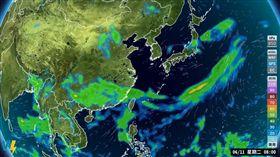 周六起雨下8天 偏典型梅雨鋒面來了 (圖/翻攝自氣象主播賴忠瑋臉書)