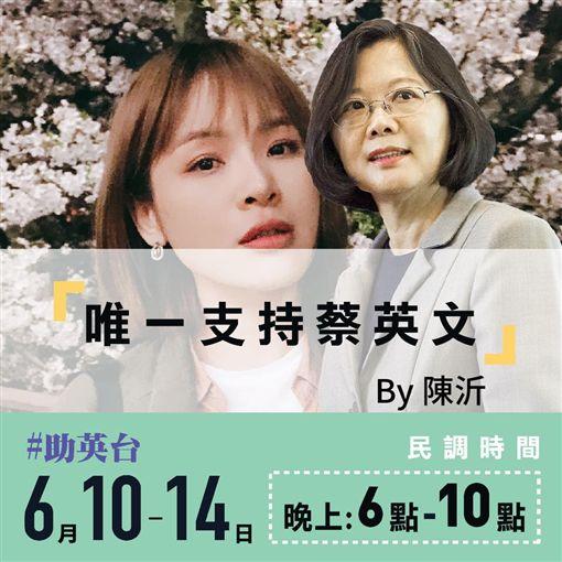 蔡英文,陳沂圖/翻攝臉書