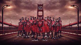 NBA/過橋踢館勇士!暴龍糗用錯橋 NBA,季後賽,金州勇士,金門大橋,多倫多暴龍 翻攝自多倫多暴龍官方推特