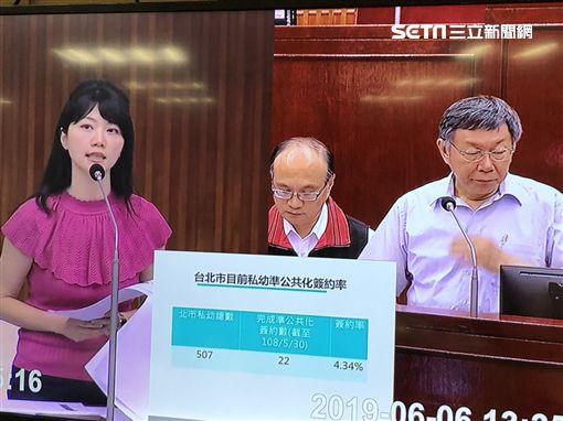 高嘉瑜,台北市長,柯文哲,總統 圖/記者黃宣尹翻攝