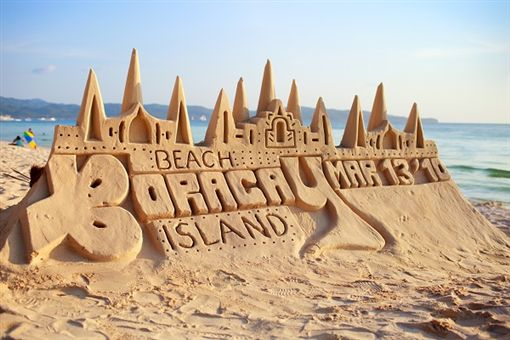 2 shutterstock_50201467(Sand castle on tropical white sand beach before sunset in Boracay, Philippines).jpg