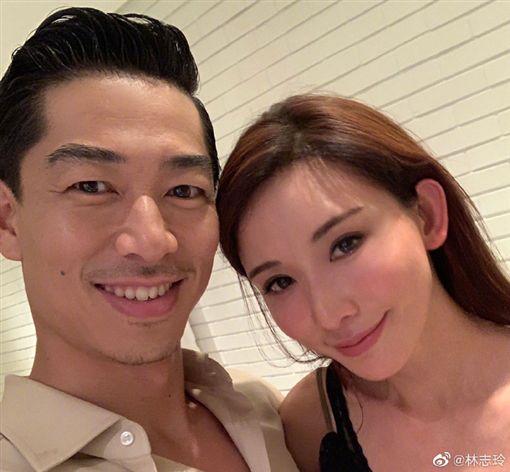 林志玲,結婚,AKIRA ,放浪兄弟(圖/翻攝自微博)