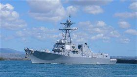 中國外交部發言人耿爽今(29)日針對2艘美國軍艦28日通過台灣海峽說,中方「密切關注並全程掌握」美國軍艦通過台灣海峽的情況,並已向美方表達關切,盼美方「慎重處理涉台問題」。(圖/翻攝自USS William P. Lawrence (DDG 110)臉書)