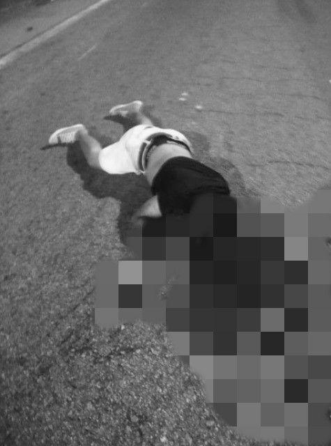 馬來西亞,男騎士自撞斷頭慘死(圖/翻攝自中國報)