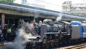 蒸汽火車將開往花蓮港站(1)