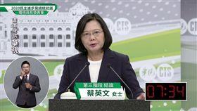 民進黨總統初選政見會,蔡英文,結論