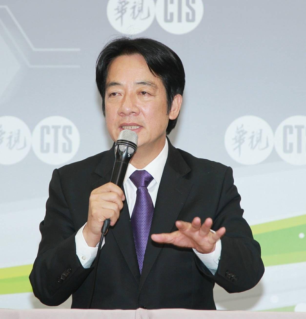 民進黨總統初選政見會後記者會,賴清德,(圖/記者邱榮吉攝影)