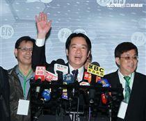 民進黨2020總統參選人賴清德參加政見發表會。(記者邱榮吉/攝影)