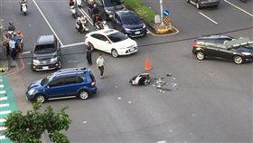 台中,車禍,男大生,獨子,行車紀錄器(圖/翻攝自龍井讚出來臉書)