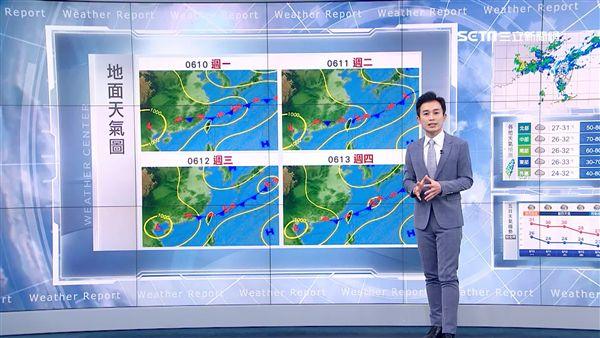 三立準氣象0609/典型梅雨週二報到!致災雨彈連炸3天