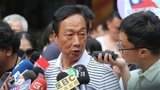 郭台銘喊話韓國瑜 合作才會贏得選舉