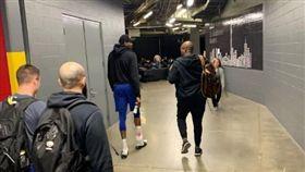 NBA/KD首度練球!G5有望出賽 NBA,季後賽,金州勇士,Kevin Durant,受傷 翻攝自推特