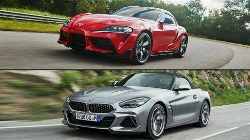 ▲Toyota Supra、BMW Z4(圖/翻攝網路)
