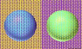 (圖/翻攝自推特)David Novick,球體,視覺,錯覺
