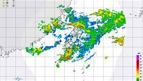 滯留鋒「連4天」壟罩台灣…氣象局啟動劇烈豪雨作業 圖翻攝自中央氣象局