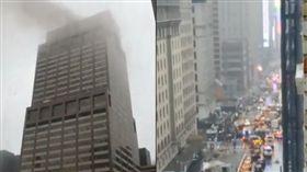直升機,墜落,紐約,曼哈頓,意外,事故,駕駛 推特