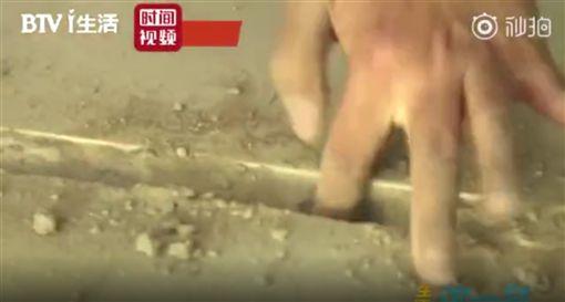 中國,豆腐渣工程,北京(圖/翻攝自北京時間)