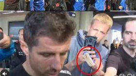 ▲憤怒的土耳其球迷在推特肉搜馬桶刷男。(圖/翻攝自推特)