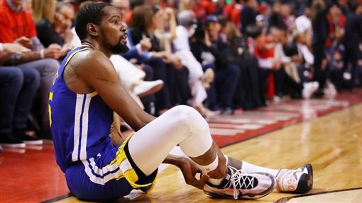NBA/重傷KD賽後首發文…有洋蔥NBA,季後賽,金州勇士,Kevin Durant,受傷翻攝自推特