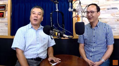 董智森訪問朱立倫,(圖/翻攝自YouTube)