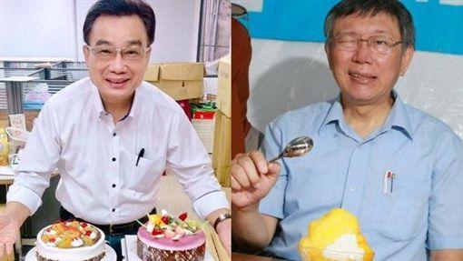 林國成,柯文哲 圖/林國成臉書,北市府提供