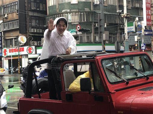 賴清德,壯大台灣車隊掃街,(圖/記者陳冠穎攝影)