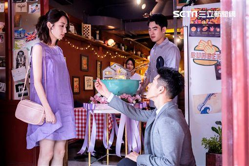 柯佳嬿、張書豪、吳岳擎、陳妤主演《如果愛,重來》圖/歐銻銻娛樂提供