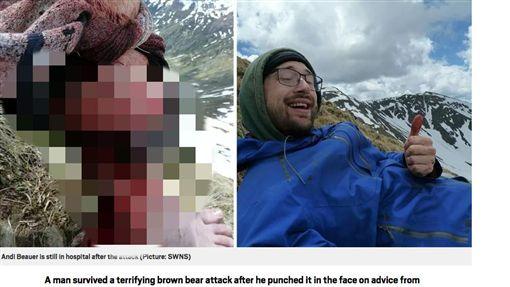 德國,熊,攻擊,情侶,登山https://metro.co.uk/2019/06/09/man-survives-brown-bear-mauling-punching-face-9876908/