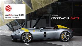 ▲Ferrari Monza SP1(圖/Ferrari提供)