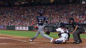 ▲葉立奇(Christian Yelich)敲出本季第25號全壘打。(圖/翻攝自MLB官網)