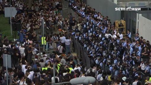 嚴防抗議群眾! 香港部署5000警力戒備