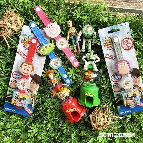 玩具總動員周邊商品。