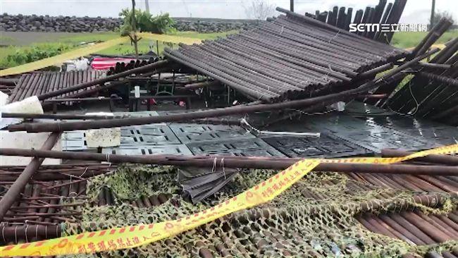 戶外教學遇大雨!台南小五男童遭「倒塌竹棚」壓死