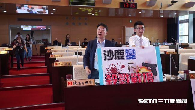 台中半年多起槍殺案 議員陳世凱:是盧秀燕壓不住黑道嗎?