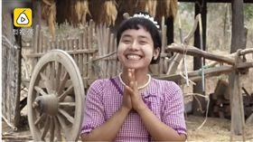 在緬甸這個村莊求愛女孩髮型說了算(圖/翻攝自梨視頻)