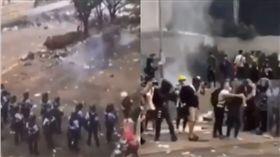 送中條例,反送中,港警,鎮壓,催淚彈,香港 https://twitter.com/tropicalvoid
